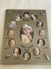 Baby's First Year Picture Frame 21st Century New