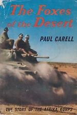 The Foxes of the Desert - The Story of the Afrika Korps (1st US ed. 1961)