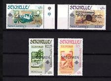Seychelles 1980 SPECIMEN New Currency Währung London 1980 Mi. 457-0 ** UMM