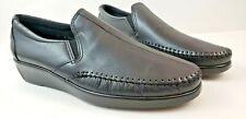 SAS Women Dream Loafer Black size 10 Slim Comfort Shoe Handcrafted Moccasin USA