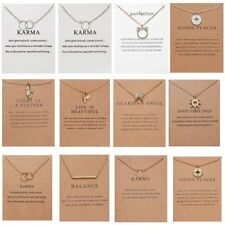 Ala de hoja de Sol Simple Encantos Colgante Cadena Collar Joyería para Mujer de Moda Nuevo