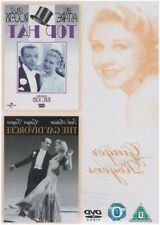 TOP HAT / THE GAY DIVORCEE DVD Fred Astaire Ginger Rogers Original UK Rel New R2