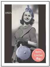 1950s Hat and Bag Vintage Crochet Pattern