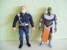 "1994 Le Studio Canal Stargate Action Figures 4"" Colonel O'Neil & Ra"