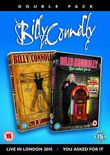Billy Connolly Live (You Asked For It 2011 + Live in London 2010)      Brand new
