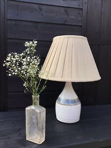 Stunning Vintage Hand Crafted Studio Pottery lamp Base, Working Order