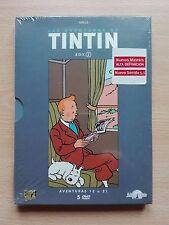 TINTIN – ''HERGÉ - LAS AVENTURAS DE TINTIN'' BOX 2. ADVENTURES 12 to 21. 5 DVD.