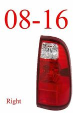 08 16 Super Duty Right Tail Light Assembly, Ford F250, F350, F450 FO2801208