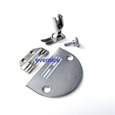 Needle Plate + Feed Dog + Foot For Juki Ddl-8300, Ddl-8700 Single Needle Sewing