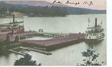 LAKE GEORGE,NEW YORK-BOAT DOCK-BOATS-PRE1920-(LKG-BOX-147*)