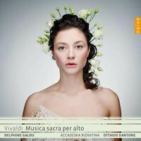 MUSICA SACRA PER ALTO - DELPHINE GALOU/DANTONE,OTTAVIO   CD NEW VIVALDI,ANTONIO
