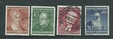 GERMANY 1952 RELIEF FUND SET USED BARGAIN PRICE