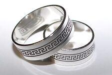 925 Silber - Ehering - Trauring - Partnerring - 7 mm - Rhodiniert - Größe 50