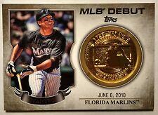 2016 Topps Series 1 Giancarlo Stanton MLB Debut Medallion #MDM-GS Retail Only