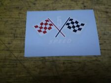 Schwinn Approved Stingray 5 Speed Bicycle Checkered Flag Seat Post Decal