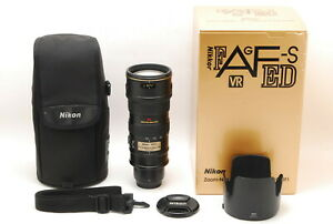 Near Mint+++ In Box Nikon AF-S VR Nikkor 70-200mm F/2.8G ED IF Lens From Japan