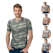 Herren-Freizeithemden mit Rundhals-Ausschnitt aus Polyester