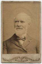 CABINET CARD T. B. BRYAN 1828-1906. LAWYER, PRO UNION AUTHOR. CHICAGO, ILLINOIS.