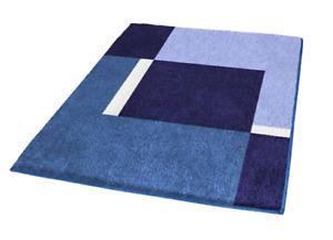Kleine Wolke Dakota Marineblau 55x65 Badteppich Badezimmer Badvorleger 2169