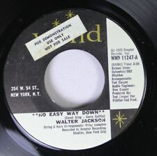 Soul Unplayed 45 Walter Jackson - **No Easy Way Down** / I'M All Cried Out On Wa