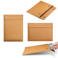 "Fashion Genuine Leather Envelope Sleeve Case Bag For 15""15.4"" Macbook Pro/Retina"