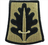 GENUINE U.S. ARMY PATCH:333RD MILITARY POLICE - EMBROIDERED ON OCP
