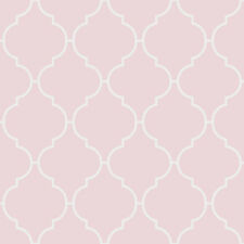 Kinderzimmer Vlies Tapete Rasch FAVOLA 303261 Retro Muster rosa weiß