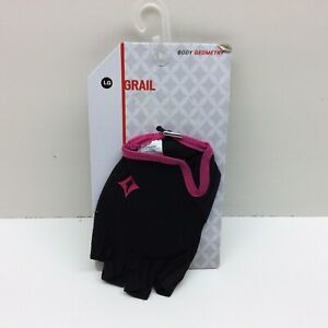 Specialized Women's Body Geometry Grail Pink/Black Gloves Size Large
