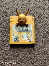 Sólo cartucho de juego oficial Pokémon Edición Especial De Pikachu Amarillo 1 de una especie