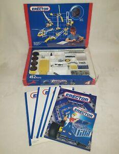 Meccano Erector Set Metal Construction Kit 51 Illustrated Models - Not Complete