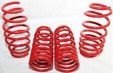 """RED Coil Lowering Spring Set 1.5"""" Drop for 06-11 Honda Civic 2D 4D FA FG"""