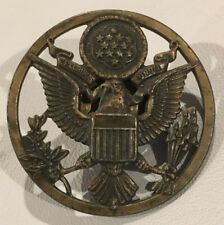 Real Old Vintage Air Force Enlisted Cap Badge - From a Usaf Hat