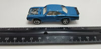 Johnny Lightning 1970 DODGE SUPER BEE Blue w/chrome rims die-cast 1/64 car