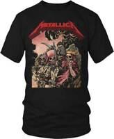 Metallica The Four Horsemen Rock Band Metal Music Adult T Tee Shirt 50040140