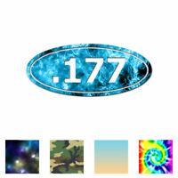 Ammo .177 Pellet Gun - Vinyl Decal Sticker - Multiple Patterns & Sizes - ebn3688