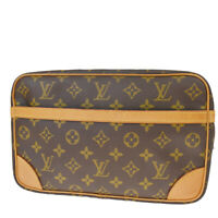 Authentic LOUIS VUITTON Compiegne 28 Clutch Hand Bag Monogram BN M51845 30MF042