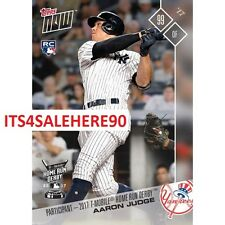 2017 Topps Now AARON JUDGE HR HOME RUN DERBY PARTICIPANT RC #HRD2 (/4039 Made)