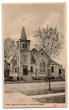 CO Colorado Loveland First Christian Church Larimer County Postcard