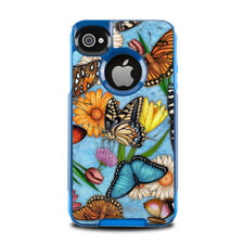 Skin for Otterbox Commuter iPhone 4 - Butterfly Land - Sticker Decal