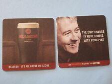 Beer Coaster ~ Beamish & Crawford Genuine Irish Stout - Cork, Ireland Since 1792