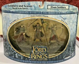 AOME 'Elven Soldiers' 3 Pack, Armies Of Middle Earth, Unopened - LOTR