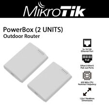 Mikrotik PowerBox 5x Port Outdoor Router with PoE Output on 4 Ports 2 Units