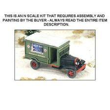 "1930's FORD ""REA"" DELIVERY TRUCK KIT - N SCALE KIT - GHQ 56014"