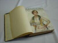 (AA.VV) Il romanzo mensile – completo 1919 Corriere della sera Annata rilegata