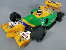 Tamiya 1/10 R/C B193 Bennetton United Color Camel F1 Race Car Rolling Chassis