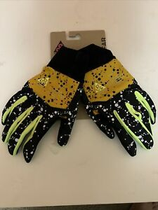 Nike Lab ACG Men's Shield Running Gloves Size Large Yellow Ochre Black Volt