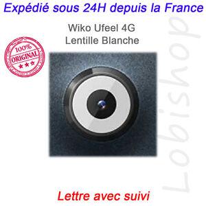 ORIGINAL Lentille blanche camera Arrière pour Wiko U FEEL 4G / UFeel Lite~