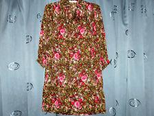 Vintage 'Geoffery Beene' Lightweight Women's Floral Minimalist Dress