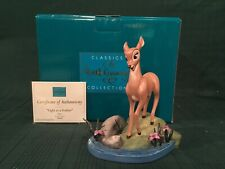 "WDCC Bambi - Faline ""Light as a Feather"" + Box & COA"
