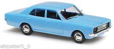 Busch 42014, Opel Rekord C, Azul, H0 Auto Modelo 1:87
